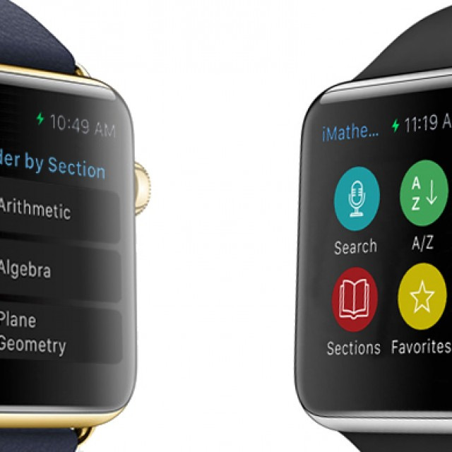 iMathematics, iPhysics & iChemistry for Apple Watch